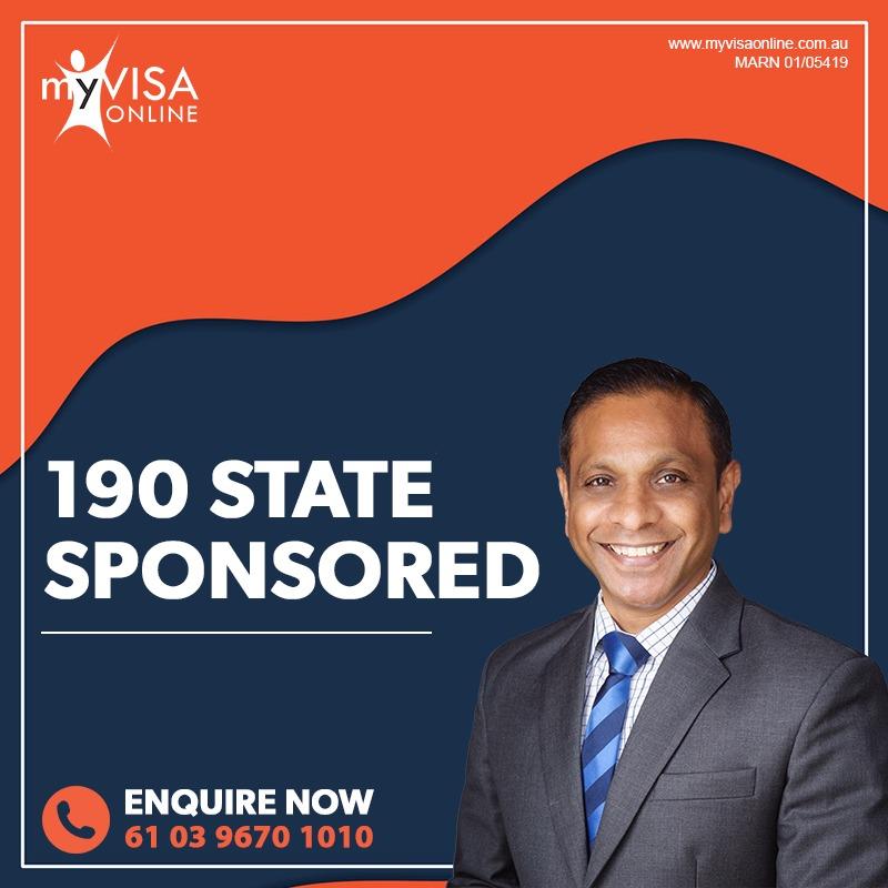 190 State Sponsored Visa