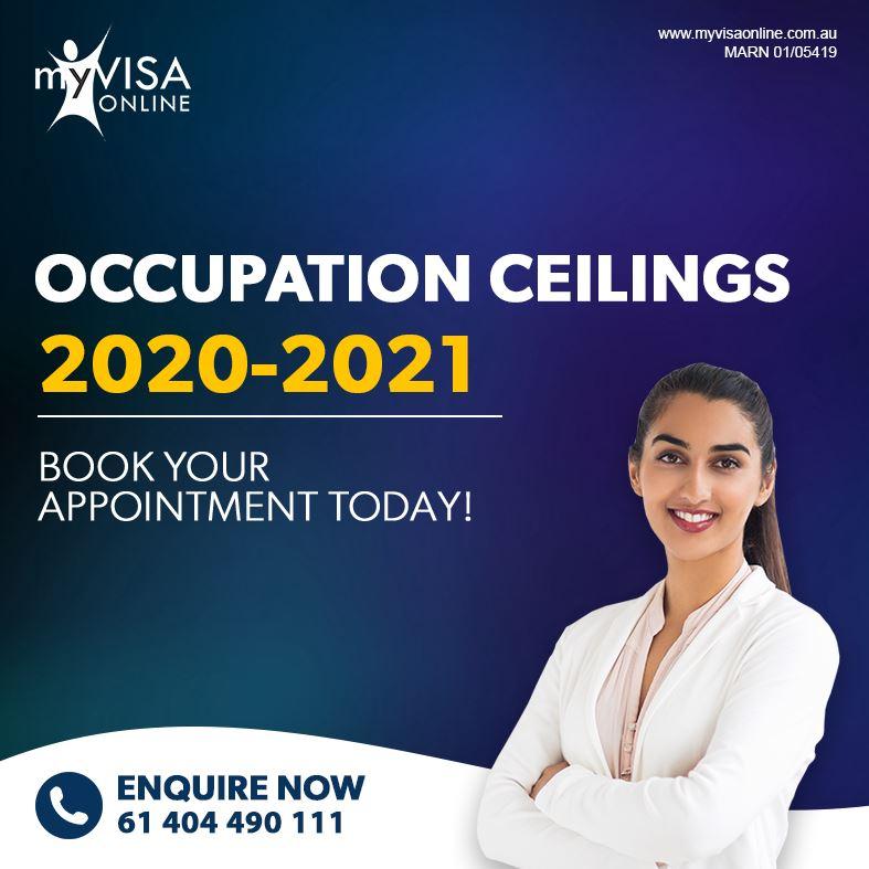 Occupation ceilings