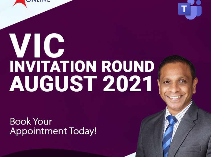 VIC Invitation Round August 2021