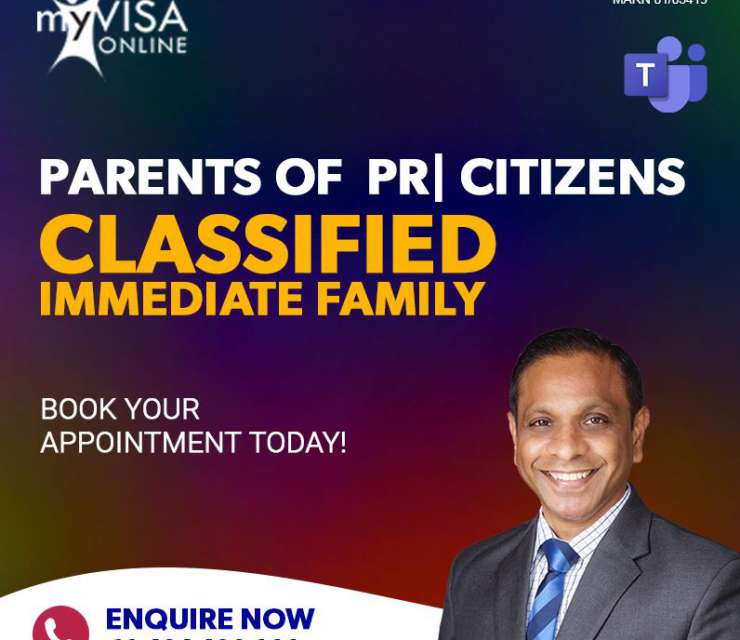Parents of PR | Citizens Classified Immediate Family